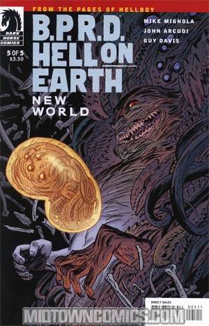 BPRD Hell On Earth New World #5