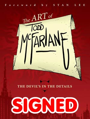 Art Of Todd McFarlane Devils In The Details HC Signed & Numbered Edition