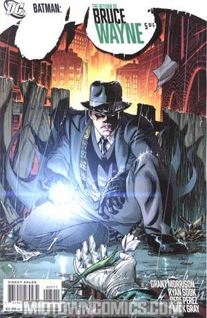 Batman Return Of Bruce Wayne #5 Regular Andy Kubert Cover