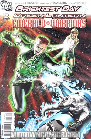 Green Lantern Emerald Warriors #3 Regular Rodolfo Migliari Cover (Brightest Day Tie-In)