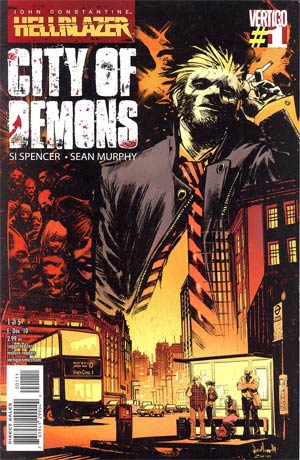John Constantine Hellblazer City Of Demons #1