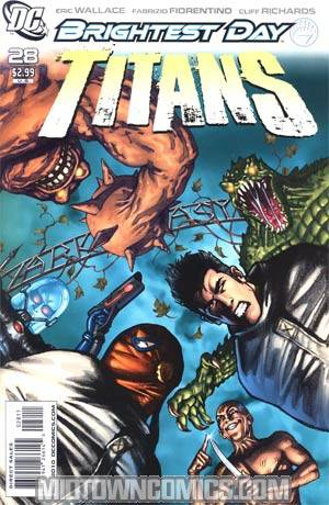 Titans Vol 2 #28 (Brightest Day Tie-In)