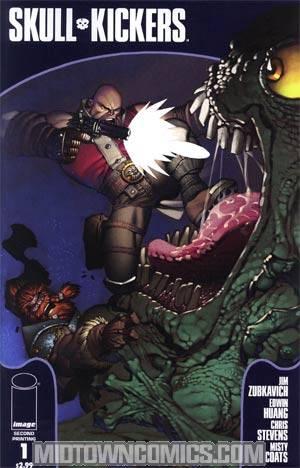 Skullkickers #1 2nd Ptg Variant Cover