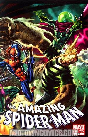 Amazing Spider-Man Vol 2 #645 Incentive Bryan Hitch Spidey vs Variant Cover