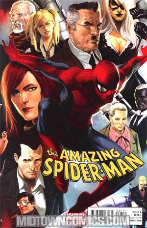 Amazing Spider-Man Vol 2 #645 Regular Marko Djurdjevic Cover