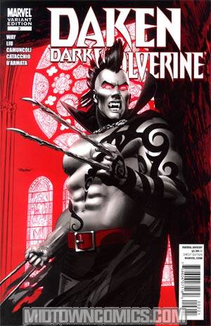 Daken Dark Wolverine #2 Incentive Mike Mayhew Vampire Variant Cover (Wolverine Goes To Hell Tie-In)