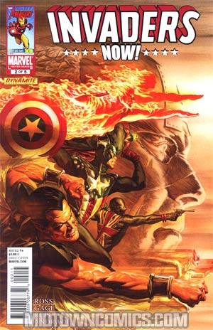 Invaders Now #2 Regular Alex Ross Cover