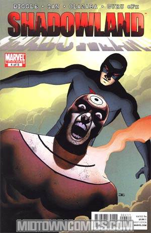 Shadowland #4 Regular John Cassaday Cover