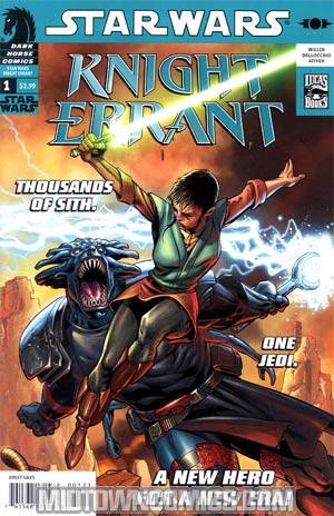 Star Wars Knight Errant Aflame #1 Incentive Dave Ross Variant Cover