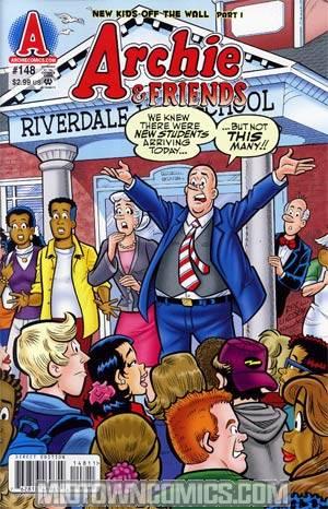 Archie & Friends #148 (New Kids Part 1)
