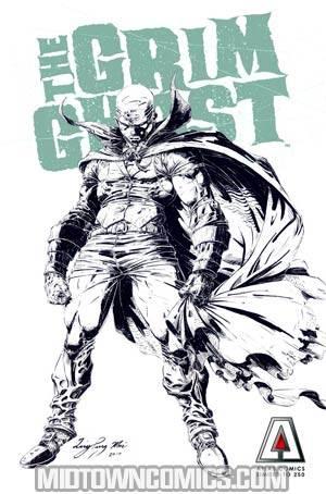 Grim Ghost Vol 2 #0 Sketch Cover