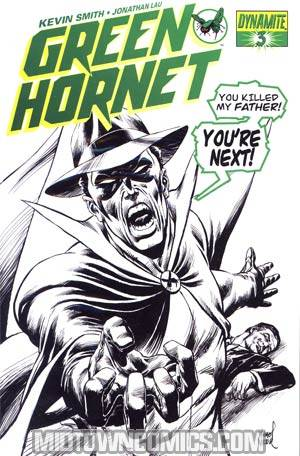 Kevin Smiths Green Hornet #3 DF Exclusive Ultra Limited Actual Death Variant Cover