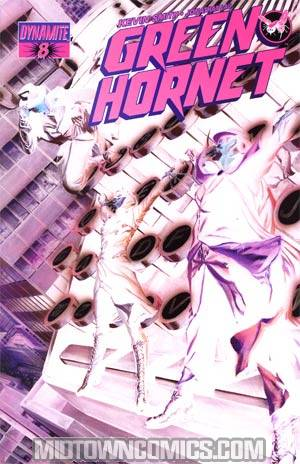 Kevin Smiths Green Hornet #8 Incentive Alex Ross Negative Art Cover