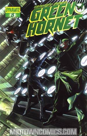 Kevin Smiths Green Hornet #8 Regular Alex Ross Cover