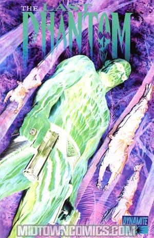 Last Phantom #2 Incentive Alex Ross Negative Art Cover