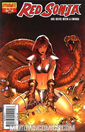 Red Sonja Vol 4 #52 Paul Renaud Cover