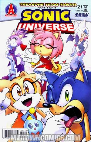 Sonic Universe #21