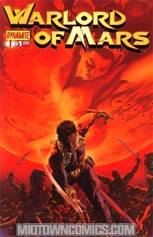 Warlord Of Mars #1 Regular Alex Ross Cover