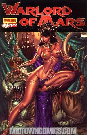 Warlord Of Mars #1 Regular J Scott Campbell Cover