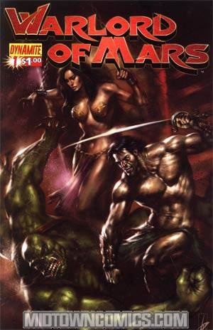 Warlord Of Mars #1 Regular Lucio Parrillo Cover