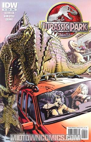 Jurassic Park Redemption #4 Regular Cover A