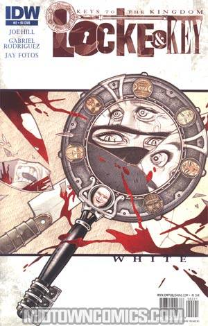 Locke & Key Keys To The Kingdom #2 Incentive Gabriel Rodriguez Variant Cover