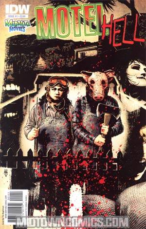 Midnite Movies Motel Hell #1 Regular Tim Bradstreet Cover
