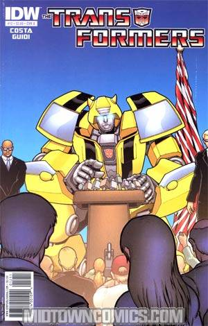 Transformers Vol 2 #12 Regular Cover A