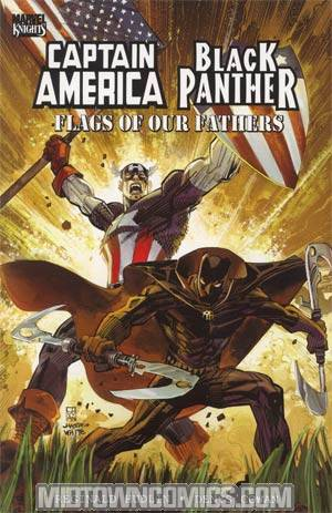 Captain America Black Panther Flags Of Our Fathers TP
