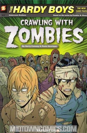 Hardy Boys The New Case Files Vol 1 Crawling With Zombies TP