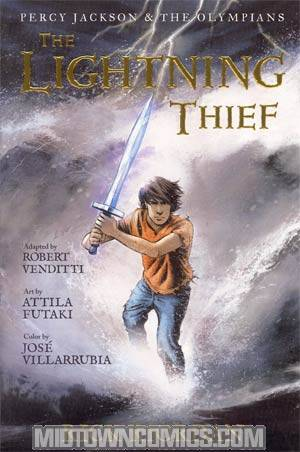 Percy Jackson & The Olympians Graphic Novel Vol 1 Lightning Thief TP