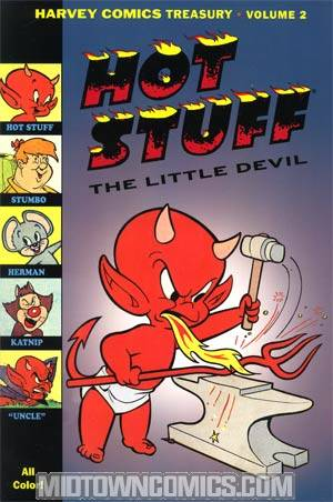 Harvey Comics Treasury Vol 2 Hot Stuff The Little Devil & Friends TP
