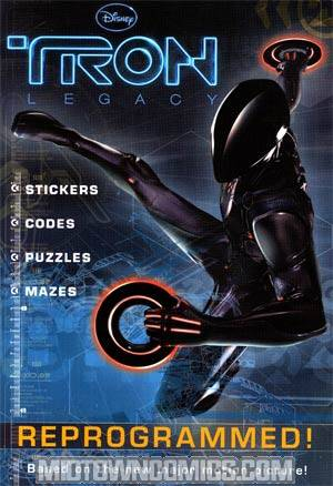 Tron Legacy Reprogrammed Coloring And Activity Digest TP