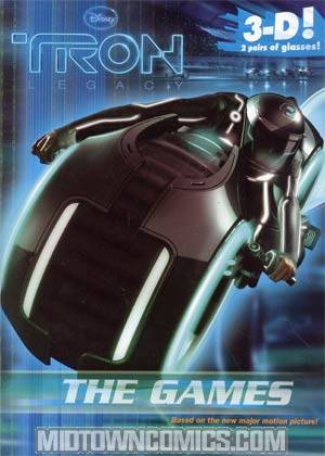 Tron Legacy The Games TP