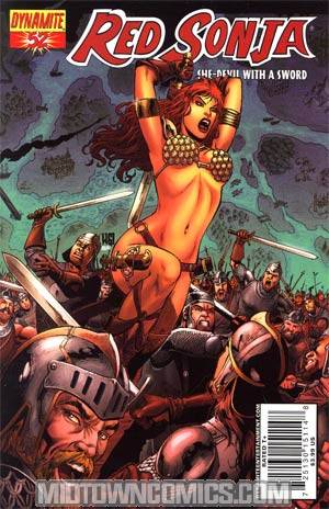 Red Sonja Vol 4 #52 Walter Geovani Cover