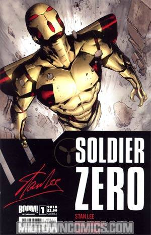 Stan Lees Soldier Zero #1 Regular Cover A