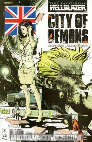 John Constantine Hellblazer City Of Demons #2