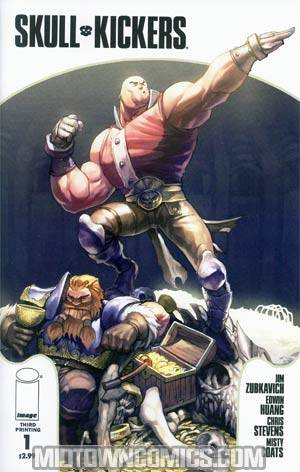 Skullkickers #1 3rd Ptg Variant Cover