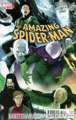 Amazing Spider-Man Vol 2 #646 Regular Marko Djurdjevic Cover
