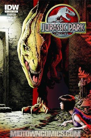 Jurassic Park Redemption #4 Incentive Bernie Wrightson Print