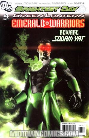 Green Lantern Emerald Warriors #4 Regular Rodolfo Migliari Cover (Brightest Day Tie-In)
