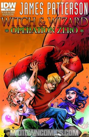 James Pattersons Witch & Wizard #6 Operation Zero Incentive Victor Santos Sketch Cover