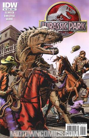 Jurassic Park Redemption #5 Regular Cover A