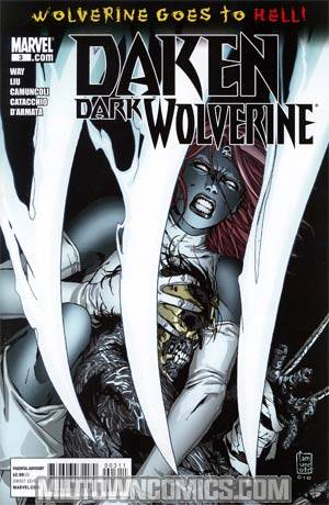 Daken Dark Wolverine #3 (Wolverine Goes To Hell Tie-In)