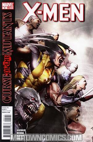 X-Men Vol 3 #5 Regular Adi Granov Cover (X-Men Curse Of The Mutants Tie-In)