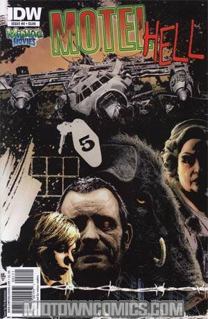 Midnite Movies Motel Hell #2 Regular Tim Bradstreet Cover