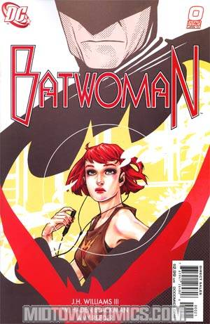 Batwoman #0 One Shot Incentive Amy Reeder Variant Cover