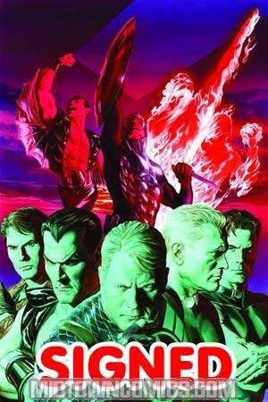 Invaders Now #1 DF Exclusive Alex Ross Virgin Cover Signed By Alex Ross