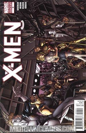 X-Men Vol 3 #4 2nd Ptg Paco Medina Variant Cover (X-Men Curse Of The Mutants Tie-In)
