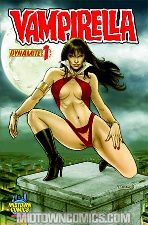 Vampirella Vol 4 #1 Midtown Exclusive Fabiano Neves Variant Cover